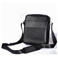 Free Shipping 2013 New Fashion Men's POLO Leather Shoulder Bag Casual handbags Messenger bags Purse Briefcase