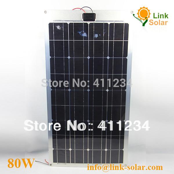 flexible solar module, customized solar panel,,80w solar panel manufacturer perfect for RV ,Marine Boat(China (Mainland))