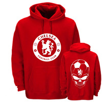 Free Shipping Fa premier league chelsea fans of the logo hoodie fleece with a hood pullover sweatshirt