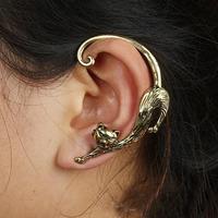 Free Shipping #007 New Arrive Punk Style Sexy Cat Alloy Stud Earring Ear Hook Ear Cuff Wholesale