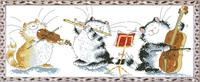 free shipping DMC Cross stitch wallmap animal dh-dw-0021 - cat