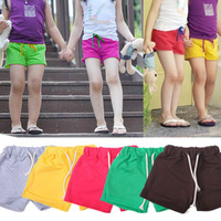 2013 summer male child clothing girls candy color child baby shorts