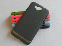 Free Shipping!! High Quality Plastic Back Shell Cover for Samsung ATIV S i8750 Quicksand Matte Hard Back Case SAM-036