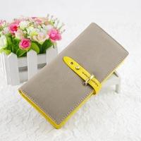 Wallet classic vintage drawstring type multifunctional women's long design wallet zipper wallet female