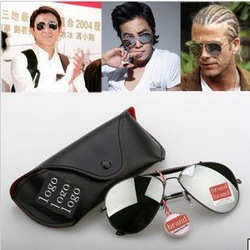 Free Shipping Wholesale 2013 Fashion Polarized Sunglasses Frog Mirror Sun Glasses Reflective Lenses Glass HOT!!!(China (Mainland))