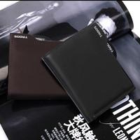 2013 New 100% Genuine leather men wallet fashion designer man purse cowskin Zipper Coin Wallet Free shipping wholesale