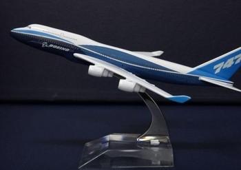 14cm metal models for Boeing 747 - 400  airplane  airplane model Boeing prototype machine