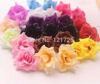 Diy rustic rose , small rose artificial flower head