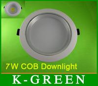 DHL FEDEX UPS TNT EMS free shipping newest style 7W COB led downlight