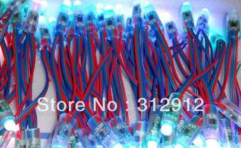 DC12V input 12mm TM1829 pixel node,50pcs a string,IP68 rated;800KHz(low speed)
