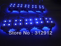 BLUE 5050 SMD injection type LED module,4pcs 5050 led,DC12V input
