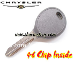 Chrysler/Dodge/Jeep ID46 Transponder Key Without Logo(China (Mainland))
