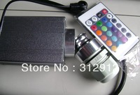waterproof 5w LED fiber optic illuminator,with 24key IR remote controller