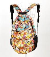 New  Cartoon backpack Nylon travelling bag schoolbag