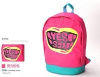 HOT Sale  YES Nylon backpack Large mouth travel bag