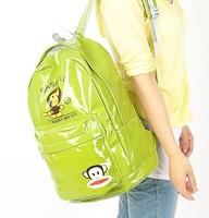 New Bright color Satin backpack  travelling bag schoolbag