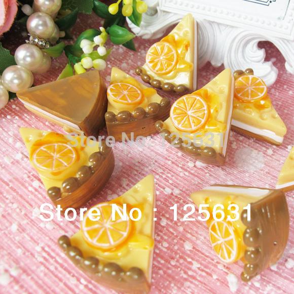Free shipping!Min. order 15 USD+ No MOQ kawaii flat back resin food cabochons decoration Size: 23*30mm(China (Mainland))