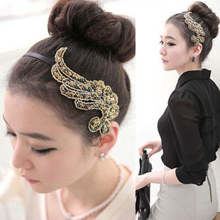 0285 Min order is $8 ( mix order ) Fashion Jewellery Vintage Angel Phoenix Hairpin For Women Hair Jewelry