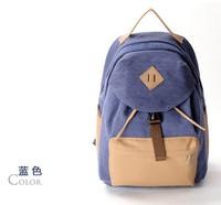 Canvas backpack New  travelling bag schoolbag J236