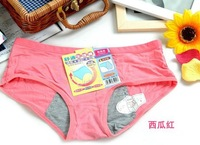7 colors 's menstrual period cosy Panties Ladies' cotton Briefs Soft Knickers