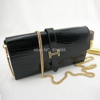 2013 new leather women clutch bag large capacity in Europe and America Fan holding a dinner header layer of leather wallet