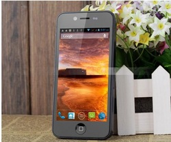 "NEW arrive star mtk6577 W005 Android 4.1.1 Dual Core 4.0"" Capacitive Touch Screen Smart Phone 3G GPS WIFI with FREE Plastic Case(China (Mainland))"