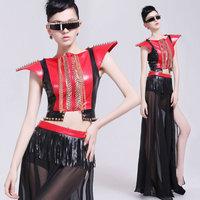 Fashion costume ds costumes female set paillette dance clothes  club dresses