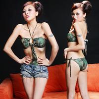 Ds one piece bikini costume sexy costumes dance clothes  club dresses
