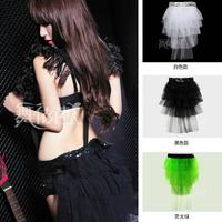 Fashion female costumes ds costume puff skirt  club dresses
