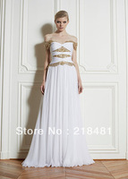 ZH-114 2013 New Arrival Hotsale Luxurious Sexy Sweetheart Short Sleeves Bling Bling Zuhair Murad  Evening dresses