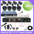 8ch night ir outdoor surveillance system camera 8ch dvr kit 18