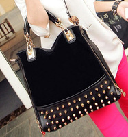 New Desigher Hotsale Rivet Metal Chain Shoulder Bag Totes Bag Hotsale  New