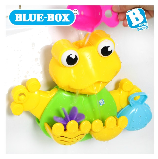 Baby swimming toys bluebox frog shower building blocks penguin swimming toys(China (Mainland))
