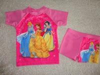 free shipping 12pcs/lot girl girls SUV swimwear swimming suits bathers UPF 50+ pink
