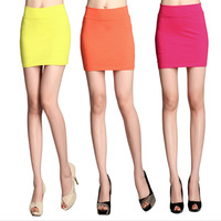 2013 spring and summer sexy slim hip bust skirt fashion slim all-match a short skirt basic skirt female