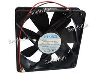 Free Shipping For NMB 12 cm fan 12025 12V 0.74A Dual Ball 4710NL-04W-B50