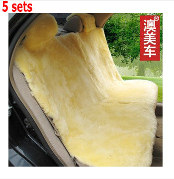 Aomei car seat cushion winter cushion wool cushion sheep shearing sheepskin wool(China (Mainland))
