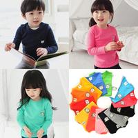 2014 new kids clothes 1~10 Age boys girls t shirt Multicolor optional  Children clothing  t shirt freeship   sport t-shirts D11