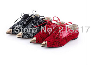 The new golden serging stretch suede leopard women's shoes low point light mouth pointed shoes help