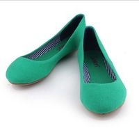 2013 NEW  women Large size Lady Flat Work  shoes big size 36-41