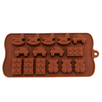 Silica gel mould chocolate mould jelly pudding cake mould ice pattern handmade soap mould high temperature resistance