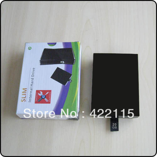 Wholesale New 20GB Internal Hard Drive Disk HDD for Xbox 360(China (Mainland))