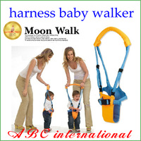 Moon baby Walkers Infant Toddler safety Harnesses Learning Walk Assistant Kid keeper, Free Shipping toddler belt cabarets Cheap