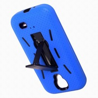 Roboter kick stand case for i9500, shock proof cover  armor case for galaxy s4,free screen protector& stylue & shipping