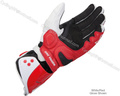 Free shipping 2013 GP Pro gloves whit Tracks Motorcycle Racing gloves Motocross Motorbike Leather Gloves Red Black M/L/XL(China (Mainland))