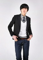 Wholesale & Retail New Fashion Stylish Men's Suit, Men's Blazer, Business Suit, Formal Suit, Color: Black Size:S-XXXL27