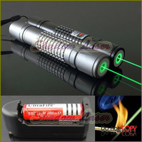 SD200-G609C 200mw 532nm Adjustable Focus BURNING Green Laser Pointer Free Battery&Charger/ Burn match ASTRONOMY MILITARY