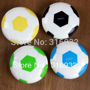 Football design contact lenses box, 4pcs/lot