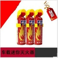 Small mini fire extinguisher dry powder fire extinguisher car with protector