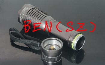 2pcs New E6 LED Flashlight 5 Mode 1800 Lumens CREE XM-L T6 LED Flashlight 18650 Battery Waterproof High Power Torch